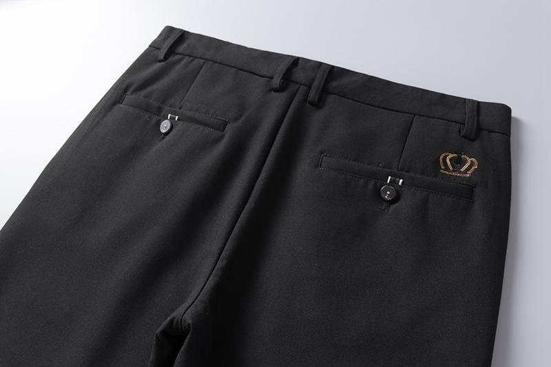 Mùa hè mới phù hợp với quần thoải mái vải thoáng khí của nam giới kinh doanh bình thường mỏng quần thẳng quần nam