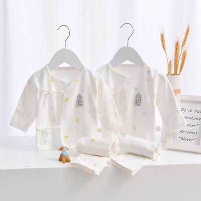 新生儿衣服纯棉春秋冬季宝宝秋衣秋裤内衣保暖初生婴儿和尚服套装