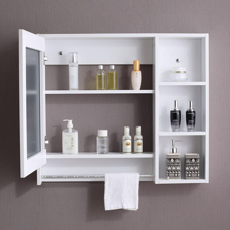Usd 119 93 Bathroom Mirror Cabinet Wall Mounted Pvc
