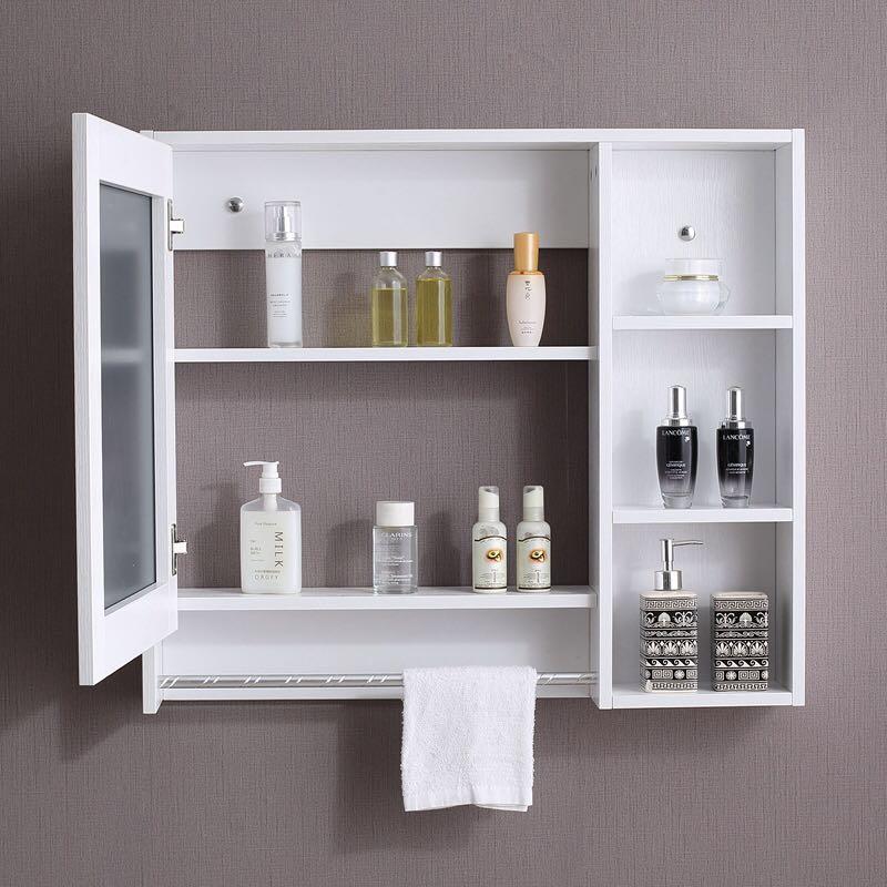Bathroom Mirror Cabinet Hanging Wall