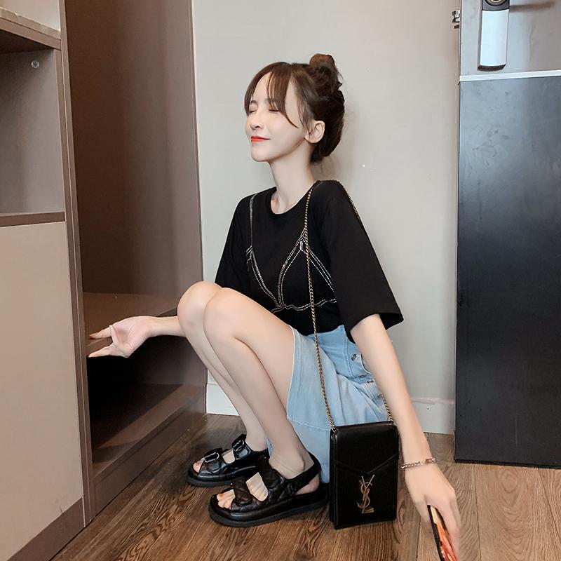 Váy hai dây phù hợp với nữ Hao Ben ánh sáng quen thuộc phong cách 2020 hè mới khí chất nữ thần thời trang chiếm hữu - Bộ đồ