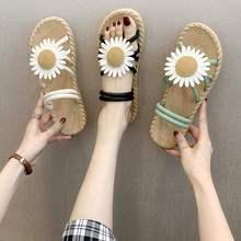 女鞋夏季百搭外穿韩版拖鞋潮平跟简约凉拖女