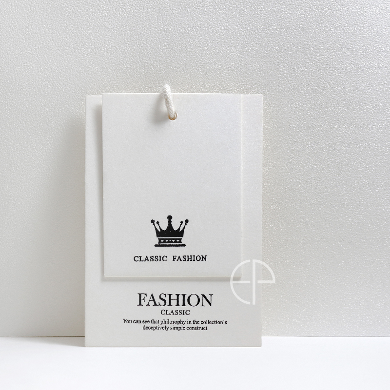 Hanging brand custom clothing store clothing trademark logo custom women's price tag籤 custom women's clothing children's clothing listing籤 spot universal card production free design