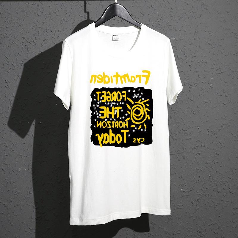 怡安踏雪361官网新款短袖t恤纯棉夏季宽松加肥加大圆领男士6XL时