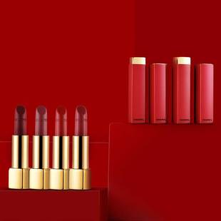 CHANEL Chanel bright glamour lipstick velvet series glossy lipstick limited red tube Christmas N1N2N3N4