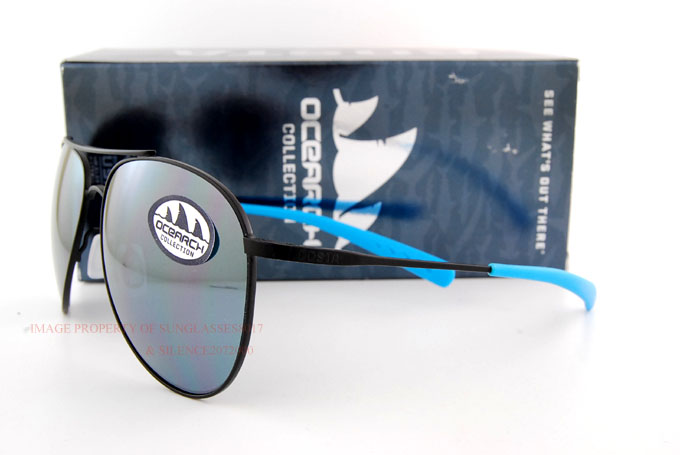 24978bac454c Details about New Costa Del Mar Fishing Sunglasses Ocearch Collection COOK Black  Made in USA