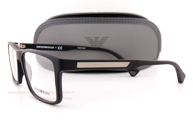 8f747d7824cfb Brand New EMPORIO ARMANI Eyeglass Frames 3038 5063 MATTE BLACK for ...