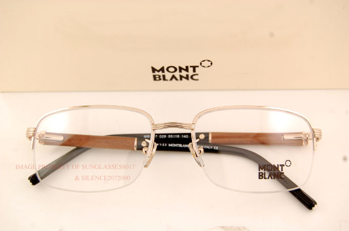Real Gold Eyeglass Frames : Brand New MONT BLANC Eyeglass Frames 447 028 Real Wood ...