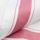 Рот салфетка салфетка Nordic утепленный полностью хлопок цвет полосатый Складывание салфетки без волос красный Бокал для Водопоглощение