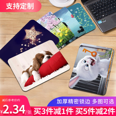 Lock cute girl mouse pad care wrist design to make computer super large notebook game creativity anime office shortcut male small student keyboard pad desktop electric energy cushion
