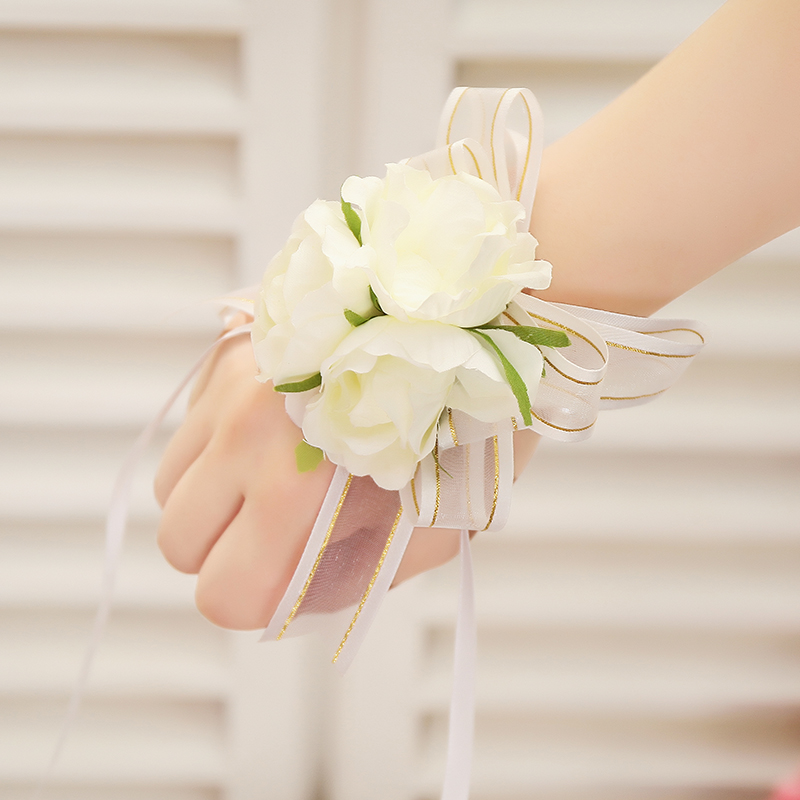 usd 8 49 wedding wedding wedding supplies bride bridesmaid wrist