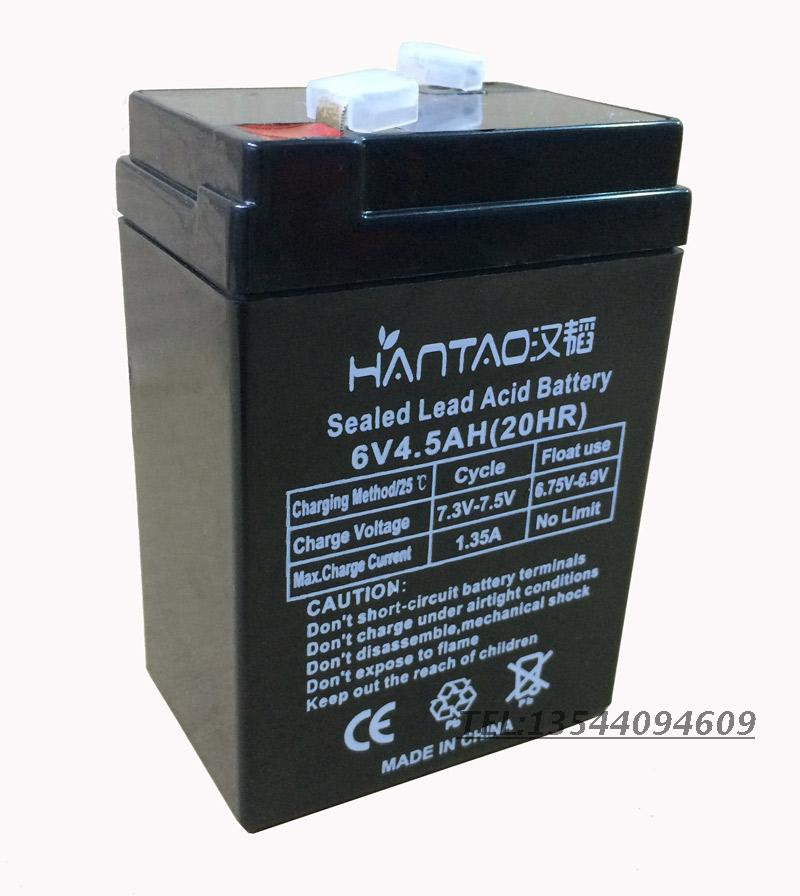 Usd 11 70 Han Tao 6v Electronic Battery 6v Toy Car Battery 6v4 5ah