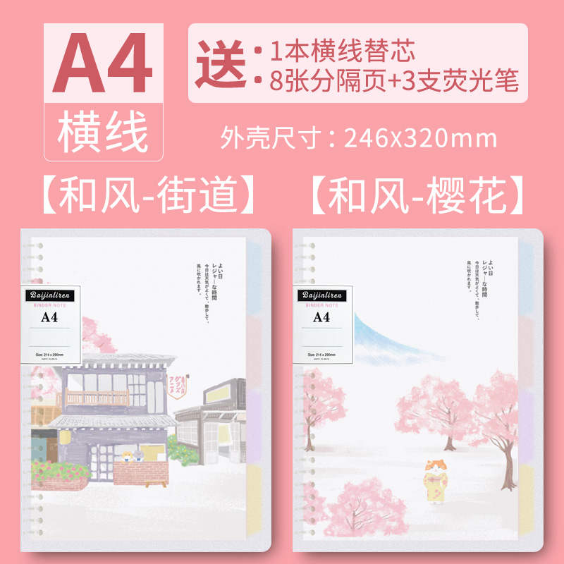 A4-street + Cherry Blossom / Send The Core
