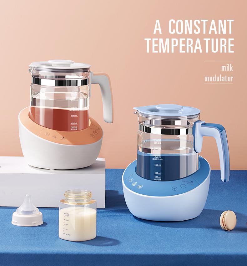蒂爱智能恆温热水壶婴儿全自动调乳器温暖奶机泡奶粉保温壶养生壶详细照片