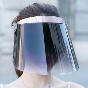 北极绒防紫外线太阳帽