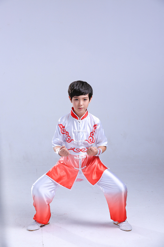 Boys Martial arts Kungfu & Tai-Chi Uniforms for Girls Children Taiji clothing martial arts performance clothes men and women color changing training clothes summer performance training clothes children