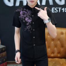 Рубашка мужская Лето с короткими рукавами