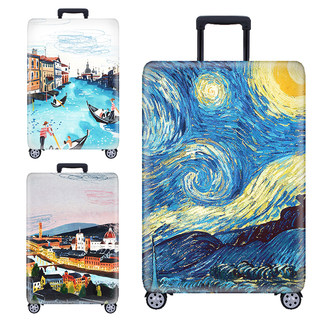 Elastic baggage box set trolley box dust cover suitcase protective cover 20/22/24 inch 26 inch 28 inch 30 inch