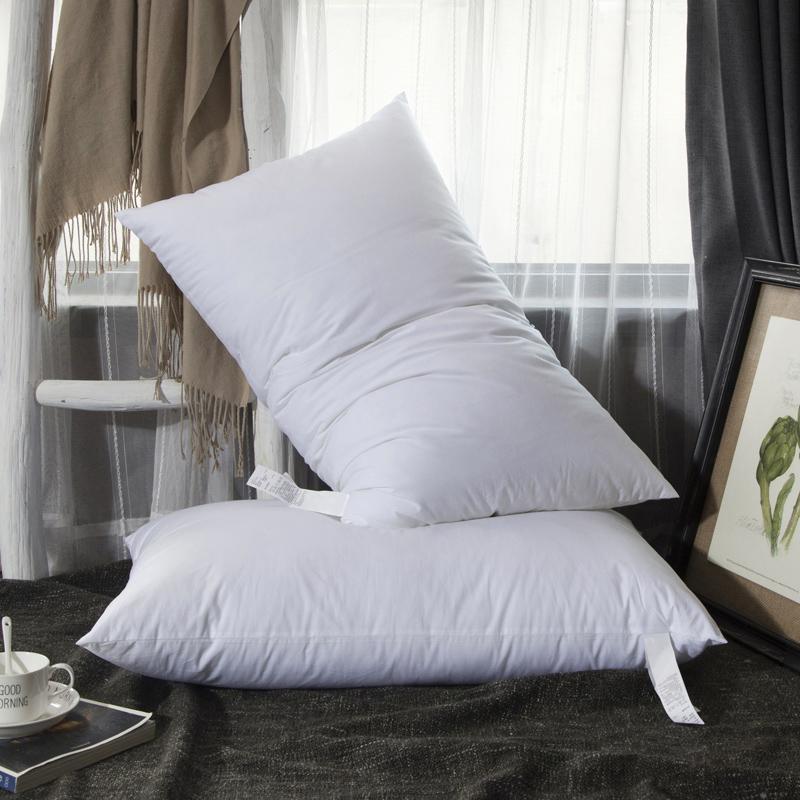 【2个装】高端品质羽绒枕头一对装
