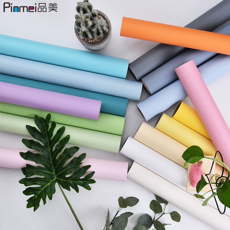 Wallpaper self-adhesive bedroom warm decorative wall stickers waterproof moisture-proof wall floor stickers furniture renovation wallpaper