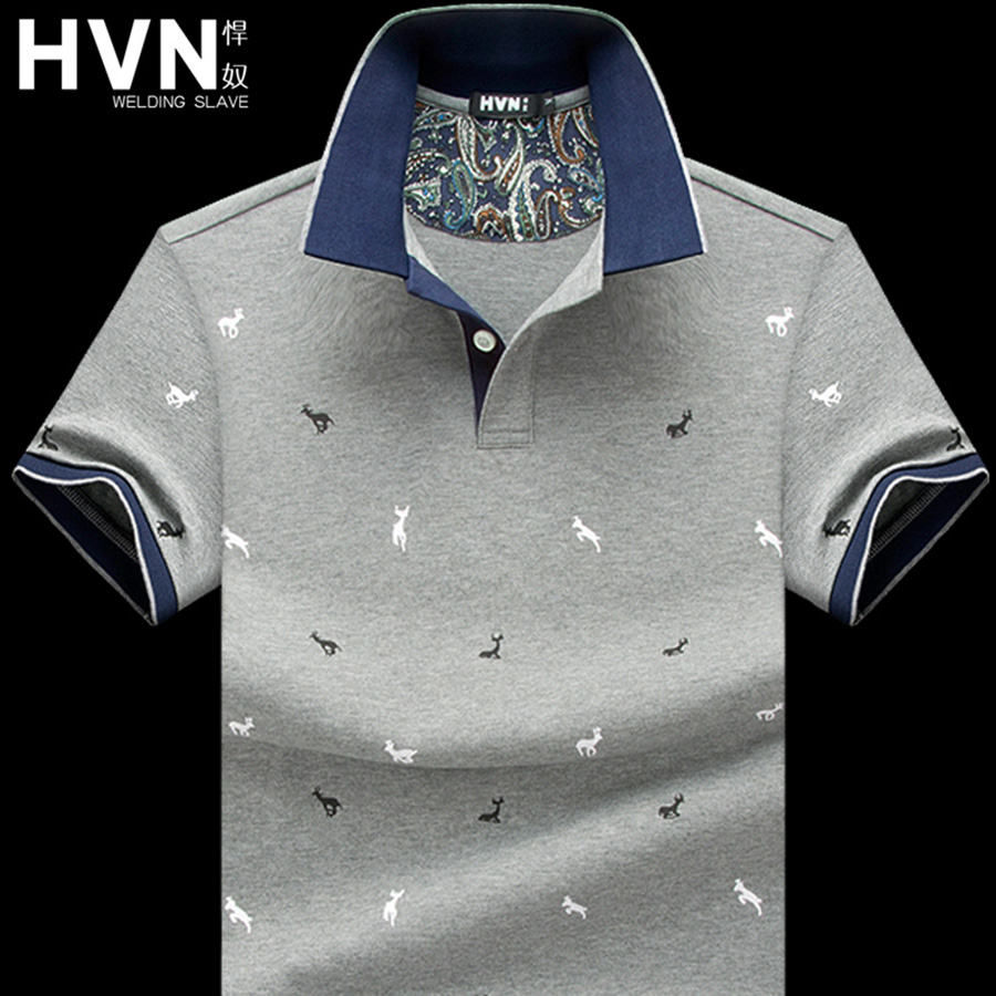 Usd 9921 Hvn Slave Short Sleeved T Shirt Male Summer Lapel Polo