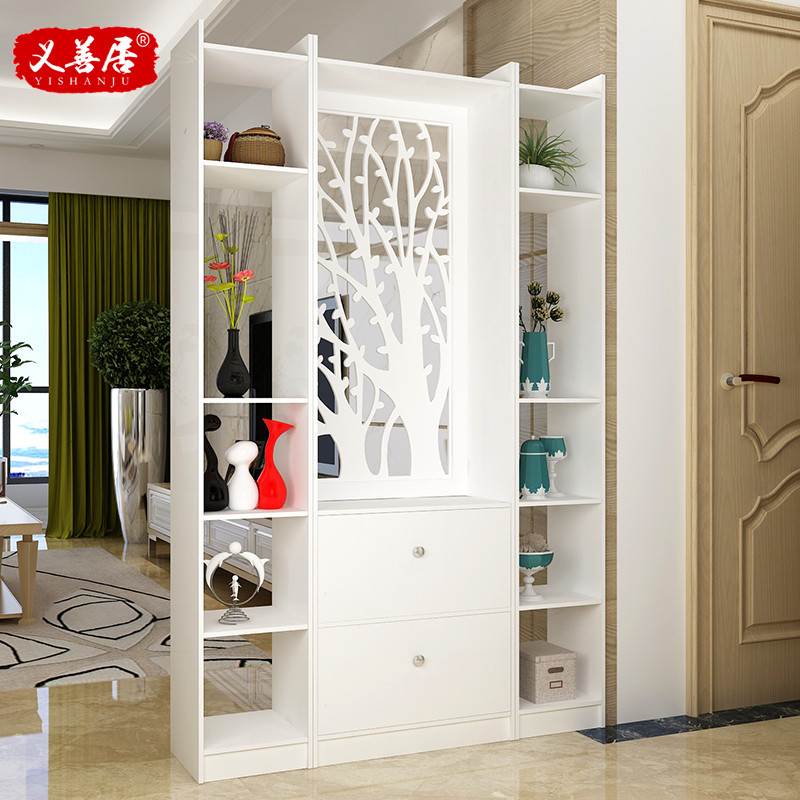 USD 94.55] Simple modern living room entrance cabinet partition Hall ...