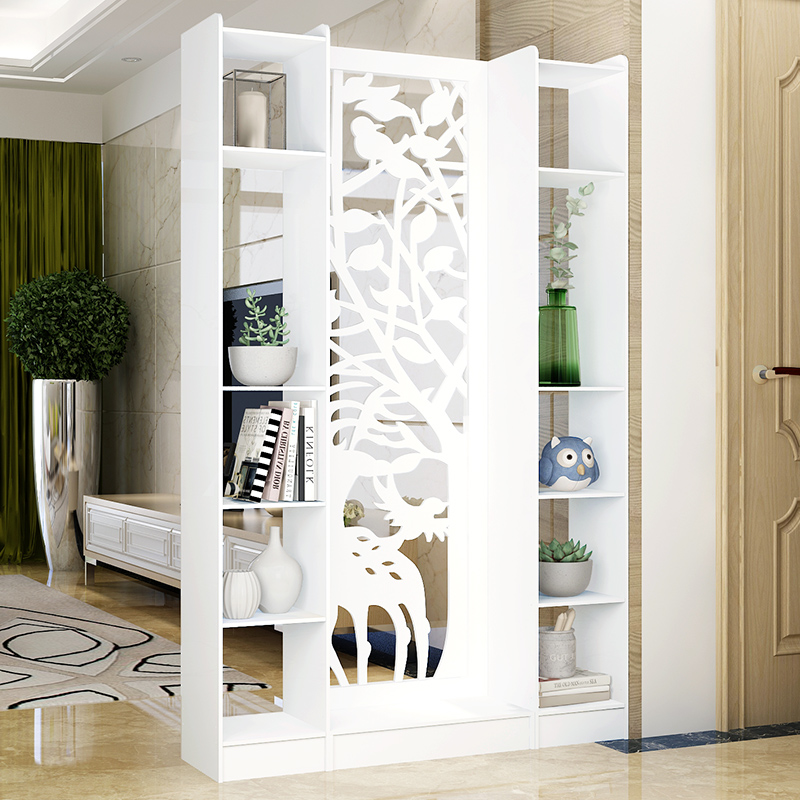 European Style Living Room Entrance Cabinet Screen Partition Simple Modern Hall  Cabinet Wine Cabinet Room Cabinet Storage Storage Display Cabinet