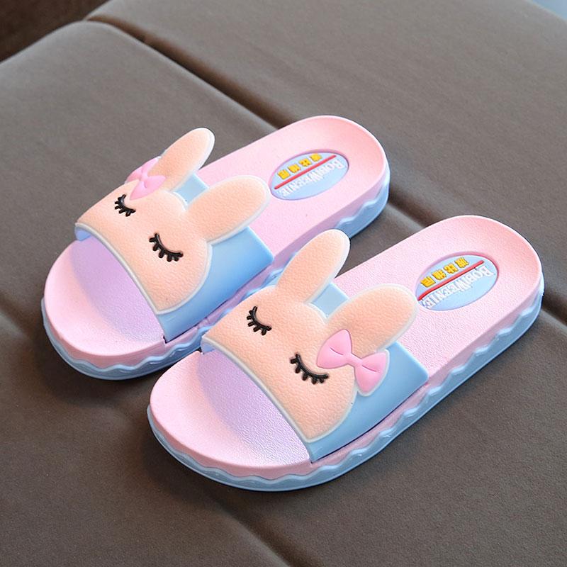 女童拖鞋夏季儿童室内防滑软底男童可爱亲子鞋小公主韩版小孩凉拖