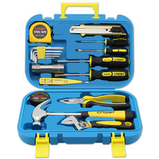 Toolbox set home hardware universal full combination screwdriver pliers German home daily repair group set