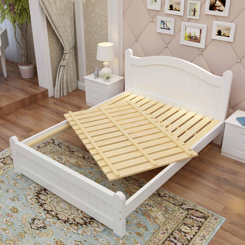 Кровать из массива дерева Xuan's core code  1.51.8m 1.2m