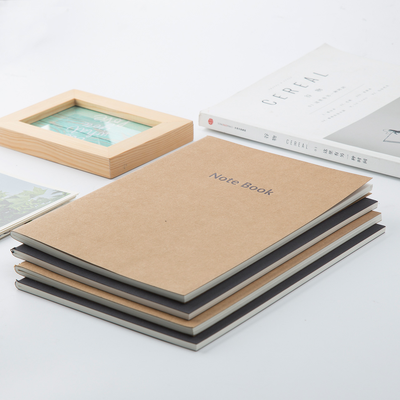 usd 15 58 wide notebook stationery notepad 16k60 kraft paper draft