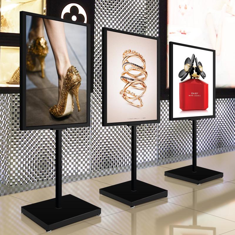 Подставка для стен, стоячая направляющая, водная медаль kt панель Вертикальная стойка для рекламных стендов с рекламной стойкой