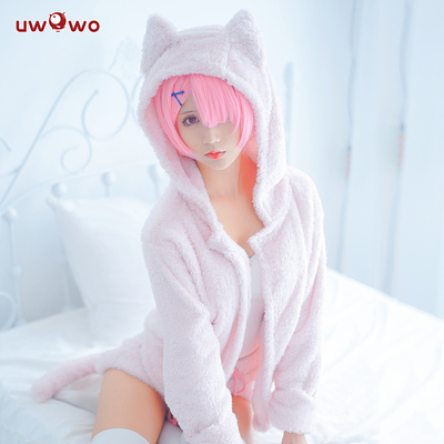 taobao agent Spot Uwowo You Wo Wo The Zero-Starting Life In Another World Re0 Rem Ram Cat Pajamas
