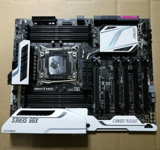 Asus/Asus X99-DeluxE Durex X99 Motherboard 2011-V3 interface supports E5 V3  V4