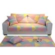 南极人全棉沙发垫四季通用防滑布艺坐垫简约现代全包万能套罩全盖