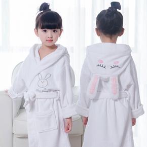 Банные халаты,  Ребенок халаты чистый хлопок полотенце мальчик девушка мультики абсорбент полотенце ребенок осенью и зимой утолщённый крышка ванна одежда, цена 1024 руб