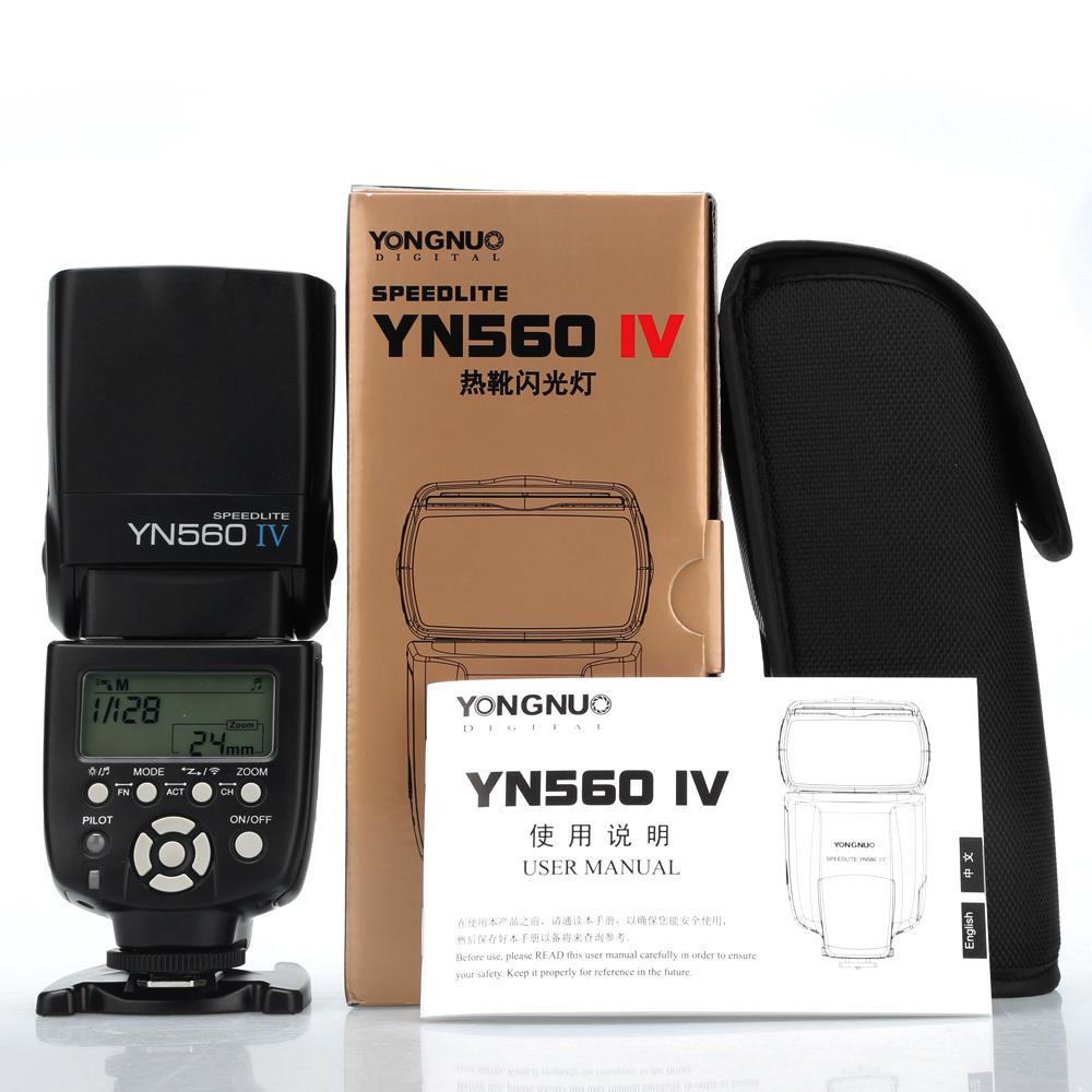 Вспышки и аксессуары для SLR YONGNUO  YN560IV
