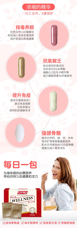 袁咏仪同款系列CATALO家得路美国进口深层滋养营养组合美容包成人 产品系列 第5张