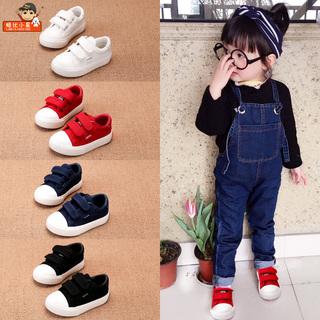 Ботиночки с противоскользящей подошвой,  Ребенок обувь мужчина новичок обувной мягкое дно 1-3 лет 2 женский детей ребенок весна обувной ткань обувная весна дети холст обувь, цена 398 руб