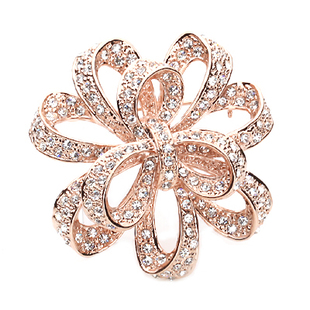 Flower Knot White Diamond