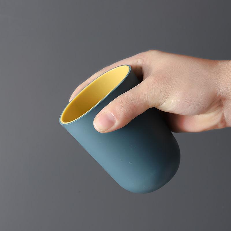 漱口杯家用简约刷牙杯洗漱杯情侣一对牙刷杯套装创意便携牙缸牙10