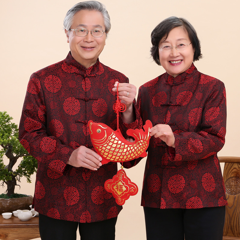 USD 18207 Tang Suit Male Father Grandfather Chinese Style In The