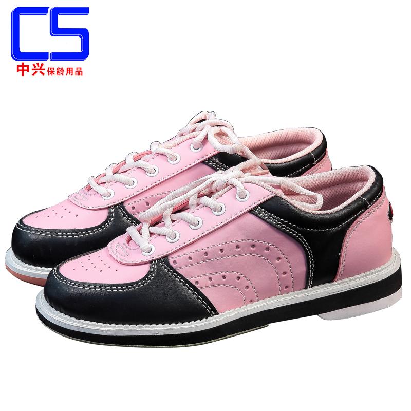 ( внутренний бесплатная доставка ) zte боулинг статьи новые товары продажи мужской и женщины двойной цвет боулинг обувной D-81C