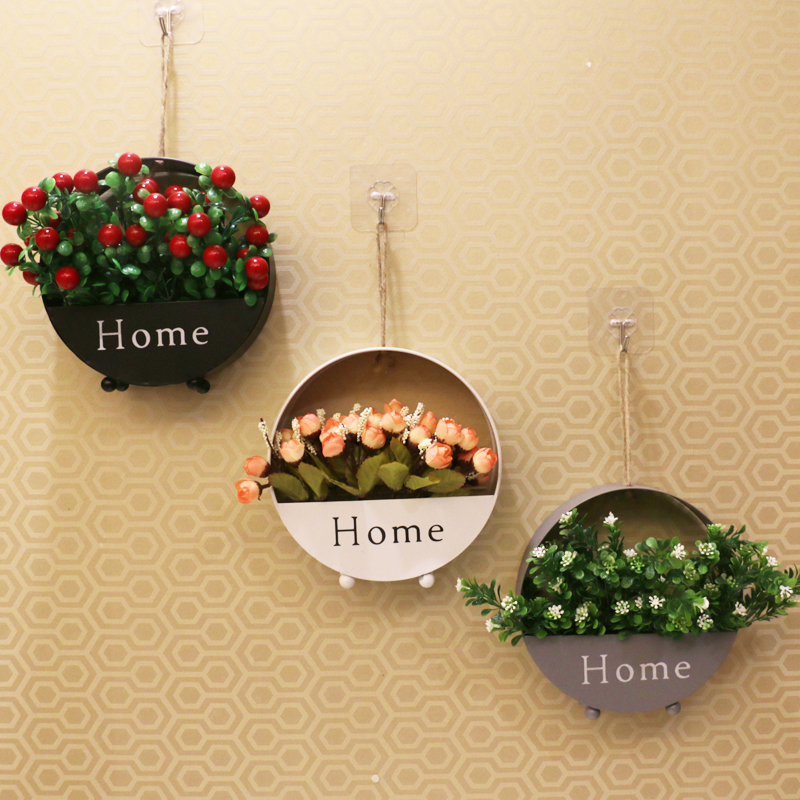 Wall decoration wall decoration home accessories Nordic wrought iron ...