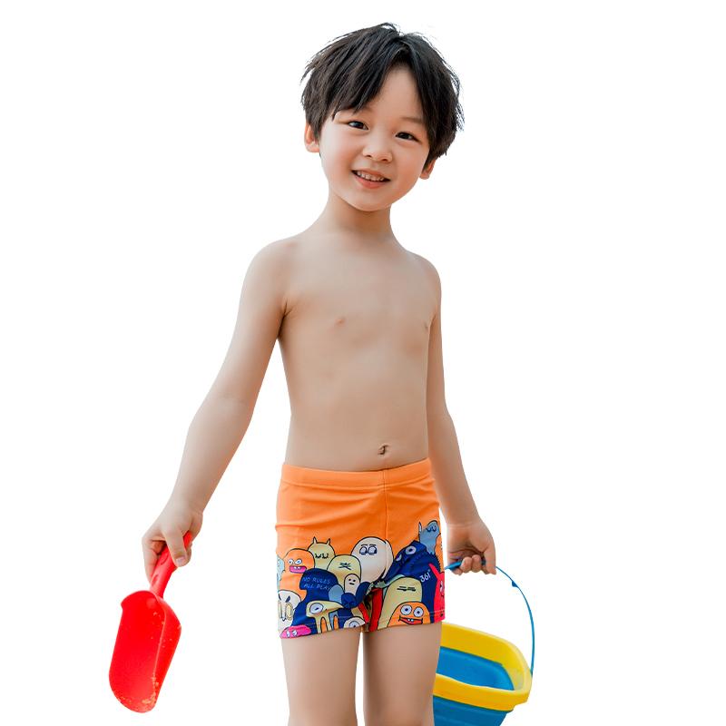 361度儿童泳裤男童宝宝分体泳装