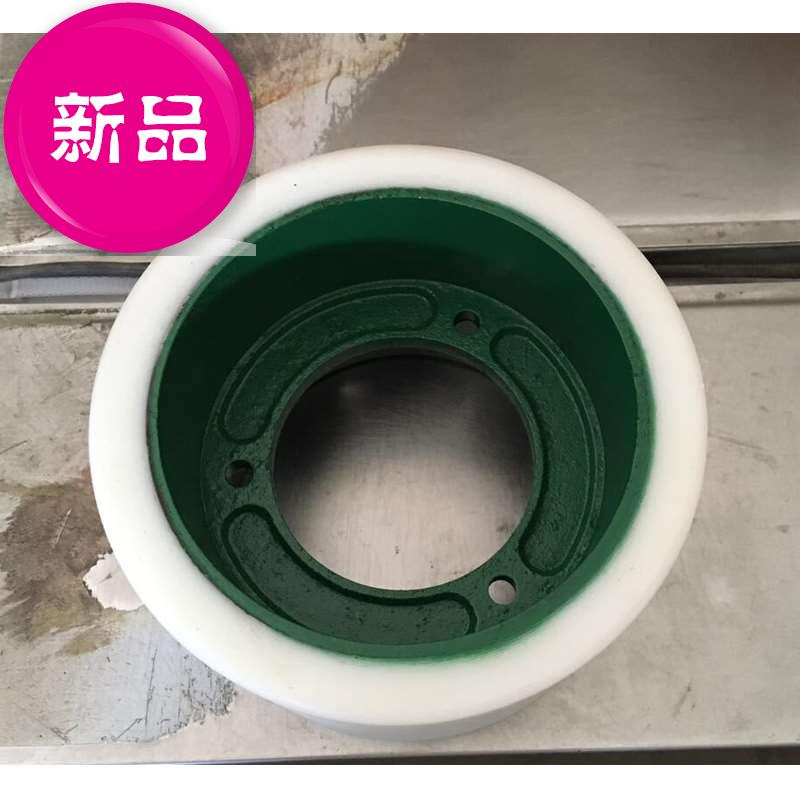 6 inch 152 x 224 white polyurethane gluon machine rubber roller rubber roller 4 dozen meters machine dedicated to the valley rubber roller