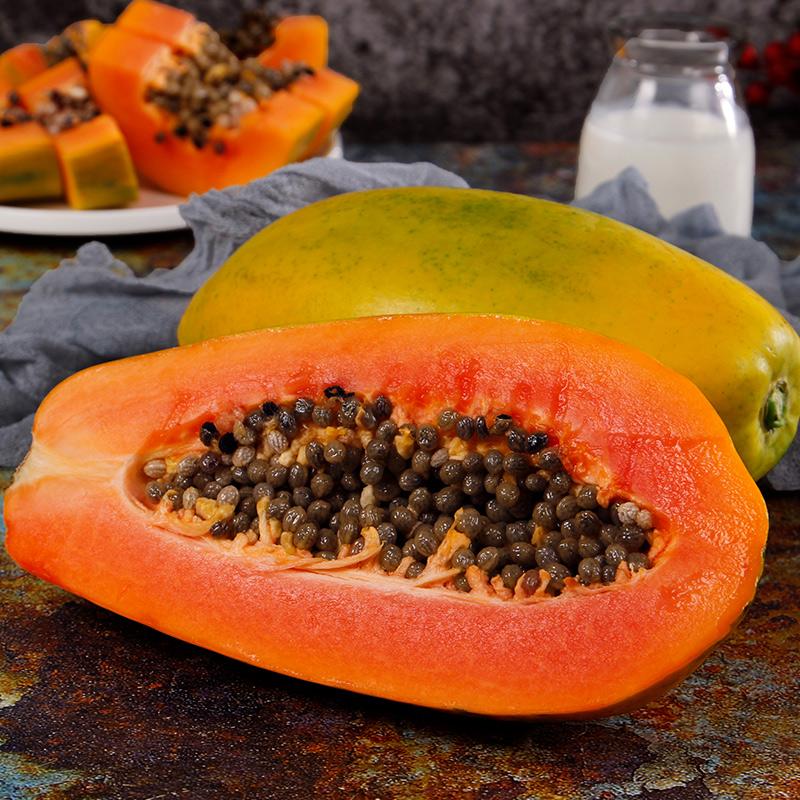 云南红心木瓜10斤超甜新鲜水果冰糖木瓜当季水果精选批发包邮10斤