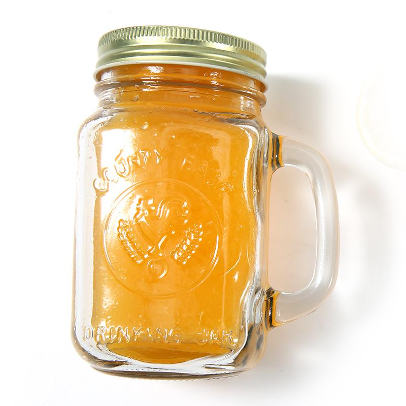 复古公鸡杯带盖梅森杯便携大容量冷饮果汁杯带盖带吸管饮料玻璃杯,免费领取10.00元淘宝优惠卷