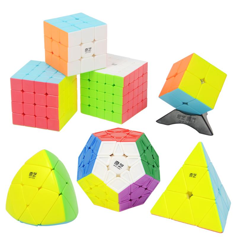 【奇艺】初学者三阶实色魔方玩具