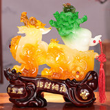 Lucky Fortune Fortune Delivery Home Living Room Jade Cabbage Pipe Formation Office Decoration Opening Craft Gift